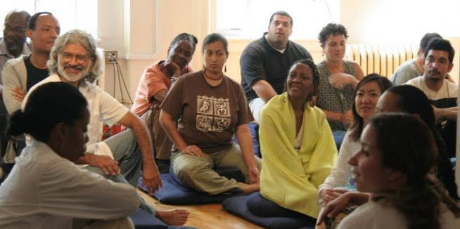 Wednesday Evening Open Group Meditation plus Informal Group Discussion